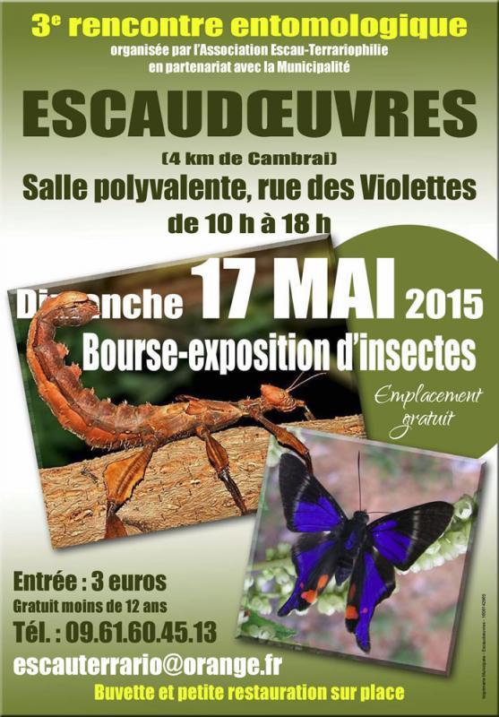 3e rencontre entomologique (59) Affich10