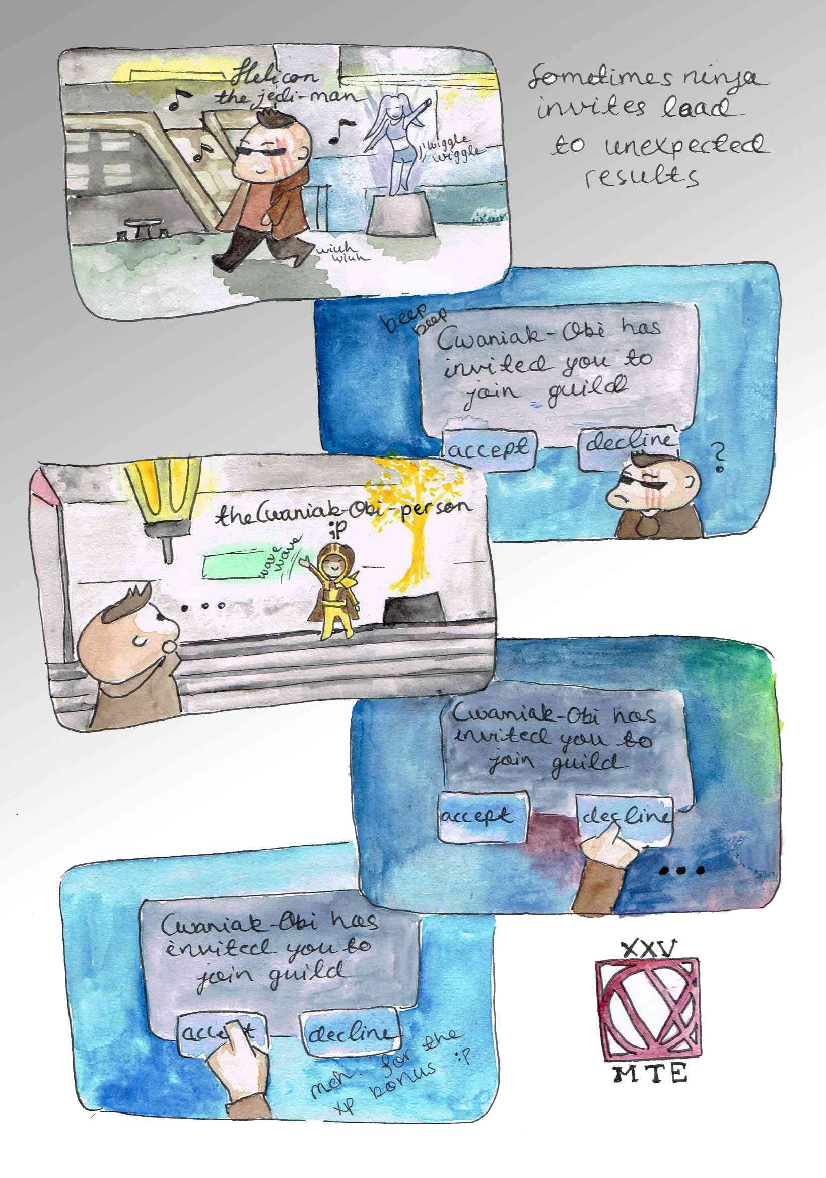 Sometimes ninja invites lead to unexpected ends (comic) Mte_0011