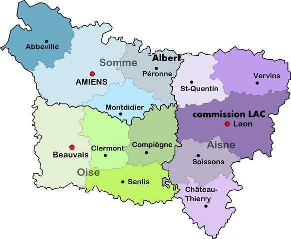 """Lettre en FM d'Albert (Somme) de juin 45 pour Avignon avec censure """"LAB""""- non répertoriée !! Commis10"""