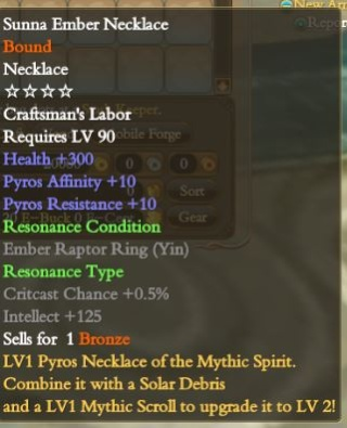 Beginner`s Guide to lvl 90 Affinity Rings/Necklace and how to Improve them! N10