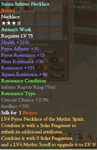 Beginner`s Guide to lvl 90 Affinity Rings/Necklace and how to Improve them! S10