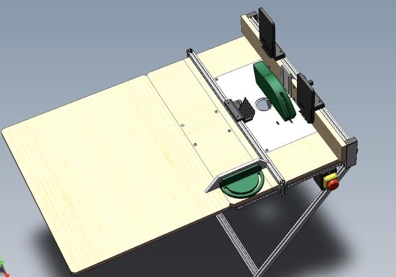 Electro-portatifs sous table (d'inspiration Festool, Woodpeckers, Wolfcraft...) et aménagements atelier  Bosch_10