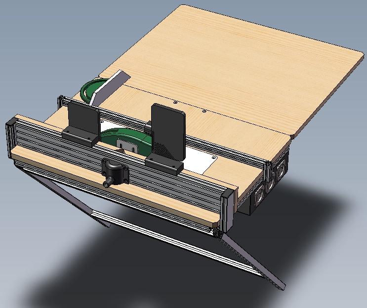 Electro-portatifs sous table (d'inspiration Festool, Woodpeckers, Wolfcraft...) et aménagements atelier  Bosch_11