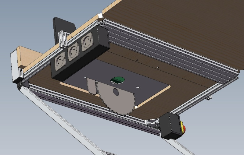 Electro-portatifs sous table (d'inspiration Festool, Woodpeckers, Wolfcraft...) et aménagements atelier  Bosch_12