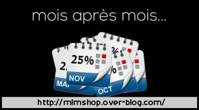 MLMSHOP - 25% par mois pendant 1 an (Parrainage non obligatoire) Mlmsho12