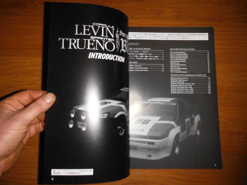 Very Rare TRD Corolla Levin Sprinter Trueno Bible Book _57_111