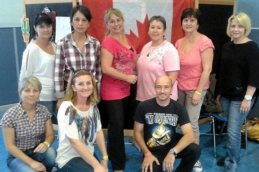 La championne du monde de danse country à la MJC  2012 0910