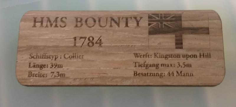 HMS Bounty 1:110 von Constructo/Krick Bild_318