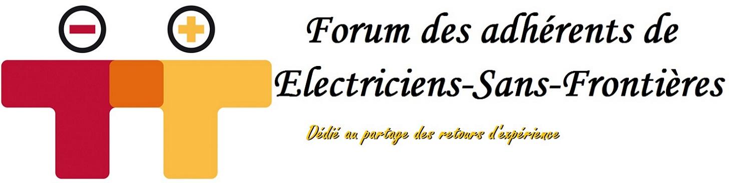 Forum Electriciens Sans Frontières