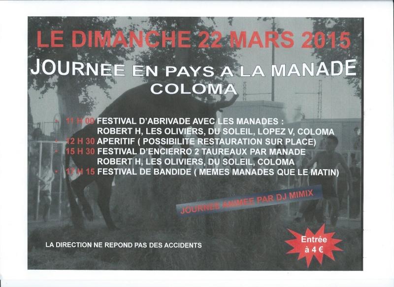 Journée en pays à la manade COLOMA Journy14