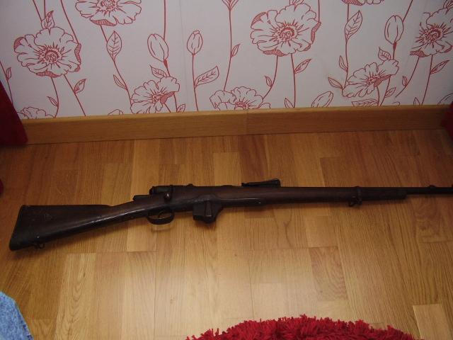 Fucile Vetterli Vitali Modello 1870/87/15 Vetter20