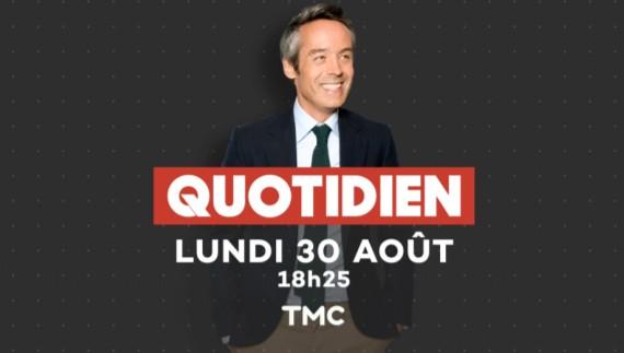 Télévision : le retour de Yann Barthès - Quotidien sur TMC Alatel10
