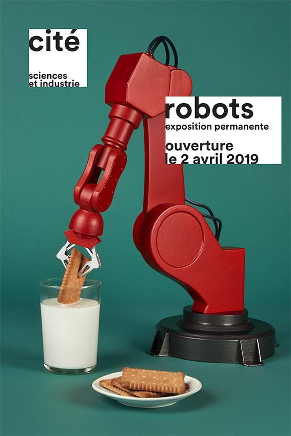 ROBOTS ! Une nouvelle expo. permanente à la Cité des sciences et de l'industrie Citzo_10