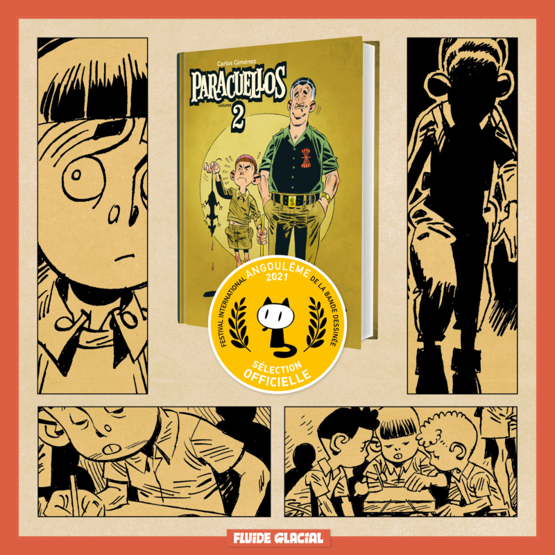 Bande dessinée : Paracuellos au Festival d'Angoulême Paracu10