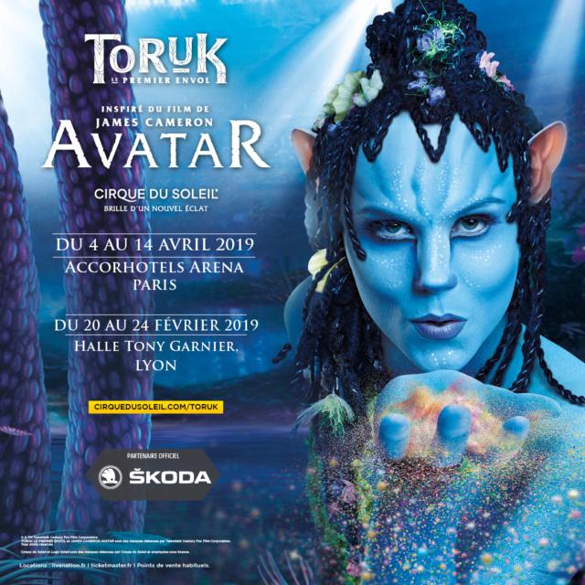 Le spectacle Toruk d'après le monde d'Avatar, en avant première à Lyon -  Halle Tony Garnier Toruk_10