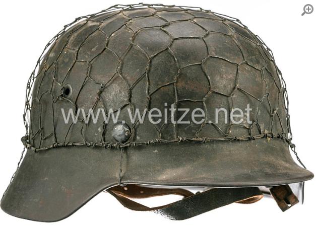 Casque WH 1940 - Grillagé C110