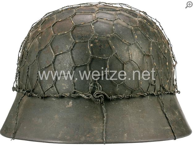 Casque WH 1940 - Grillagé C210