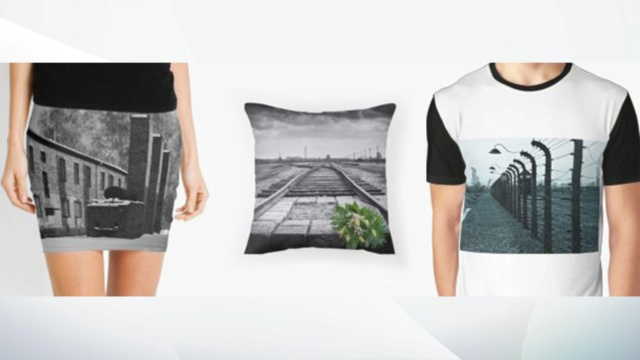 Online retailer criticised over Auschwitz-themed pillows and miniskirts 2b346e10