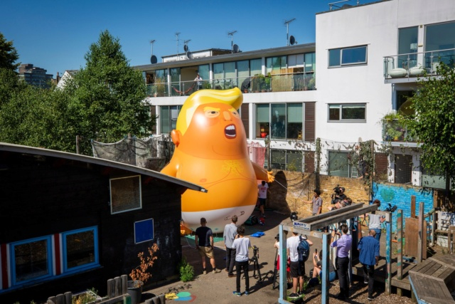 'Trump Baby' Balloon for President's Trip to U.K.? London Mayor Says Yes - Page 2 79e60c10