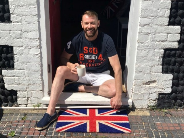 Man called racist because he's got a Union Flag doormat 82193610
