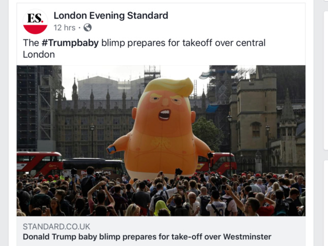 'Trump Baby' Balloon for President's Trip to U.K.? London Mayor Says Yes - Page 2 86c6a110