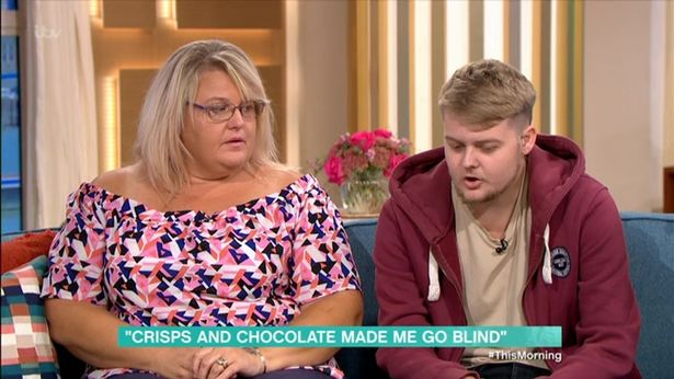 Mum of boy who went blind from diet of Quavers, Wotsits, chocolate and chips, blames the NHS 9e349010