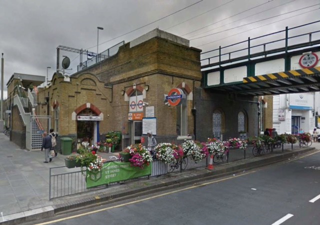 Teenager fighting for life after being shot outside a London station A4c3ac10