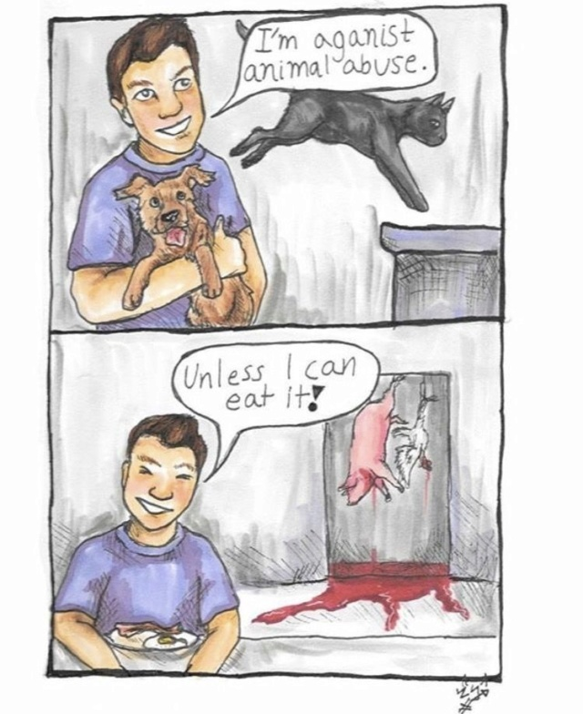 The hypocrisy of animal lovers , - Page 2 Aa3ba010