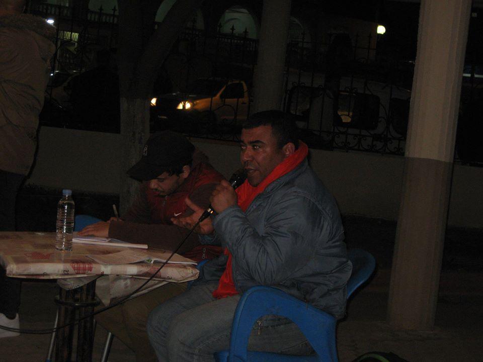 conference de Lyes Touati et de Lemnouar Hamamouche à Ihdaden, Bgayet 1013