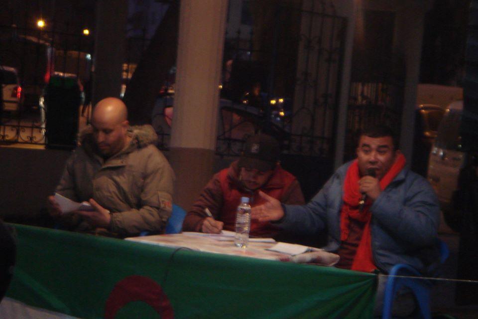 conference de Lyes Touati et de Lemnouar Hamamouche à Ihdaden, Bgayet 1110