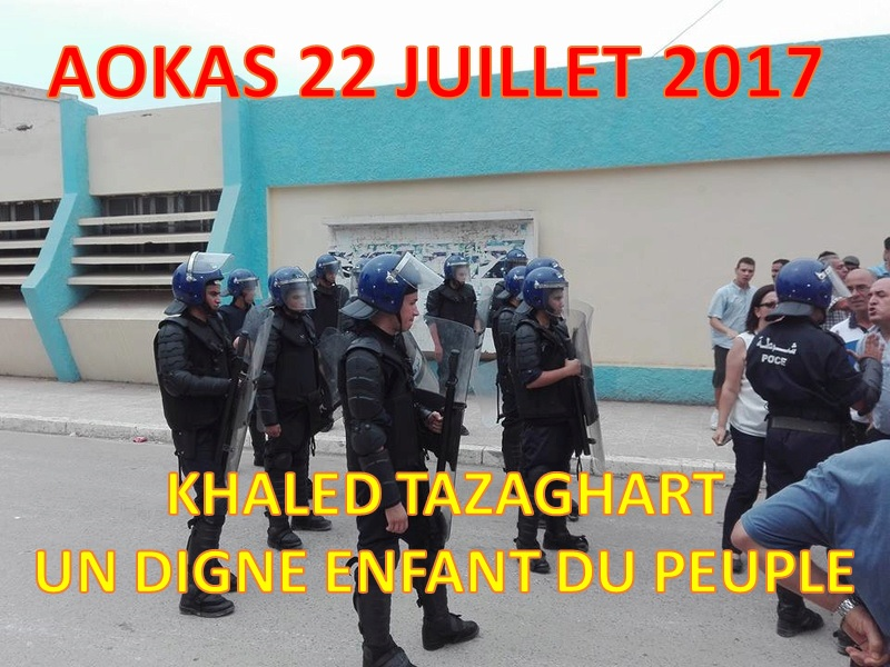 Khaled Tazaghart à Aokas le 22 juillet 2017 153
