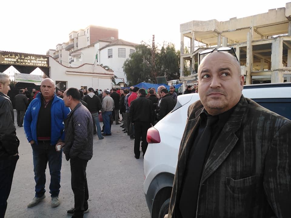 PROTESTATION DEVANT LE SIEGE DE LA DAIRA D'AOKAS LE JEUDI 06 FEVRIER 2020  213