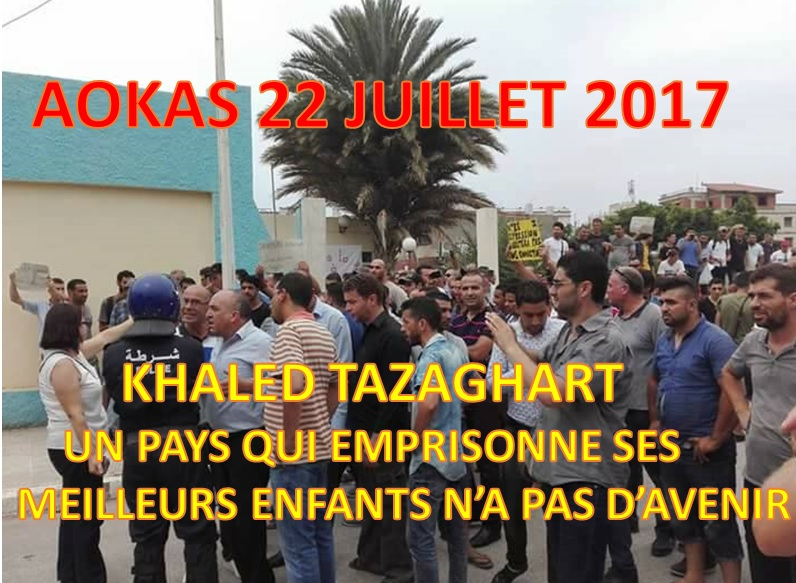 Khaled Tazaghart à Aokas le 22 juillet 2017 214