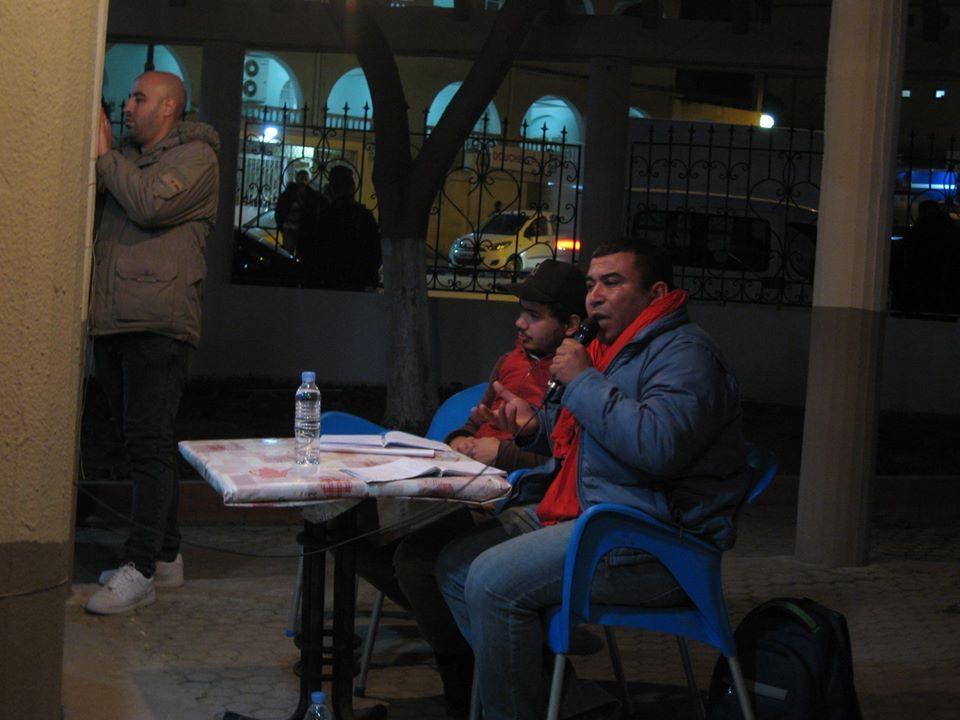 conference de Lyes Touati et de Lemnouar Hamamouche à Ihdaden, Bgayet 810