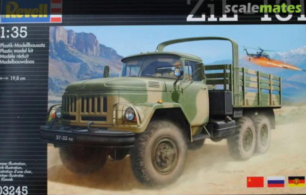 """[REVELL] ZIL 131 1/35 version """"Trail"""" 1/35ème Réf 03245 76520210"""
