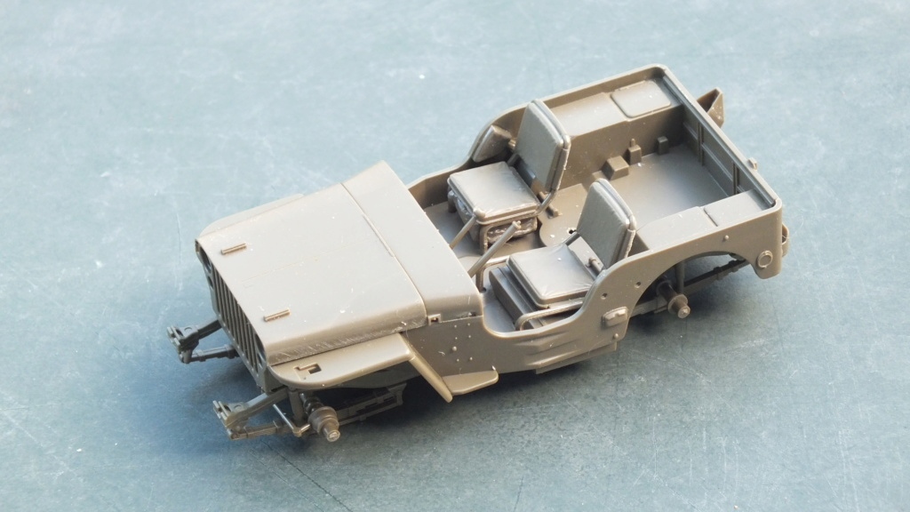 Jeep Willys 1/4 Ton Truck  Tamiya 1/35 réf:35219 Dscf3923