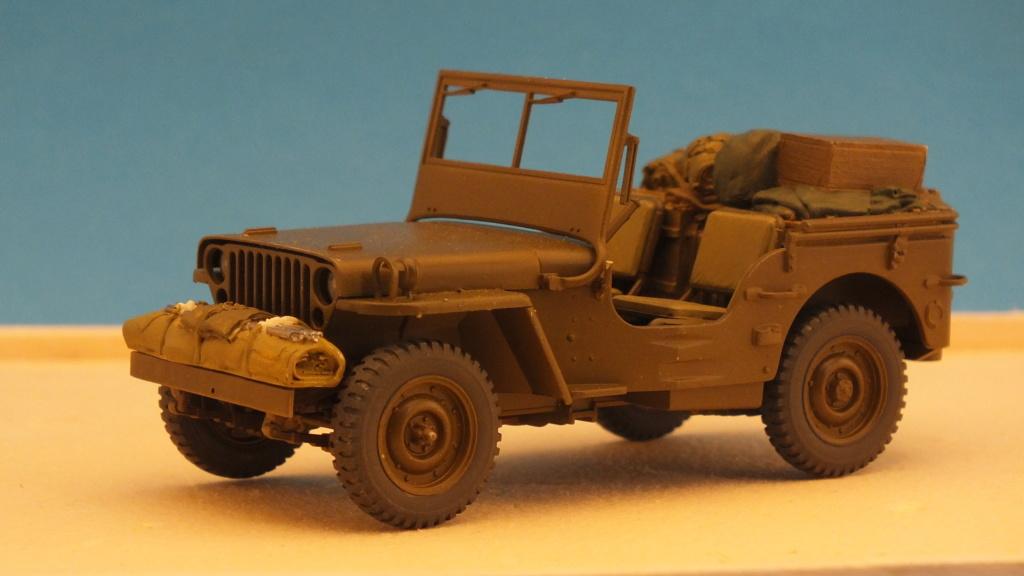 Jeep Willys 1/4 Ton Truck  Tamiya 1/35 réf:35219 Dscf4122
