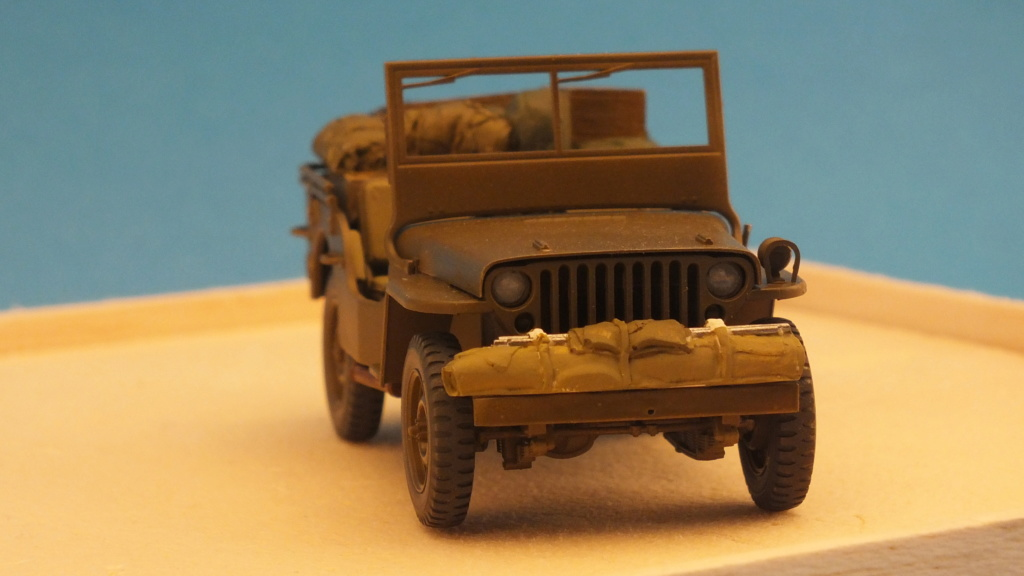 Jeep Willys 1/4 Ton Truck  Tamiya 1/35 réf:35219 Dscf4123
