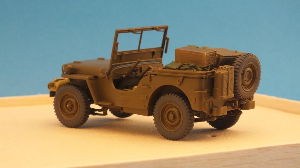 Jeep Willys 1/4 Ton Truck  Tamiya 1/35 réf:35219 Dscf4124