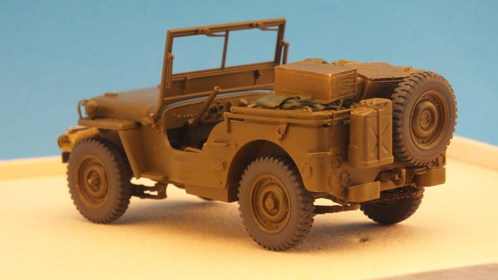 Jeep Willys 1/4 Ton Truck  Tamiya 1/35 réf:35219 Dscf4125