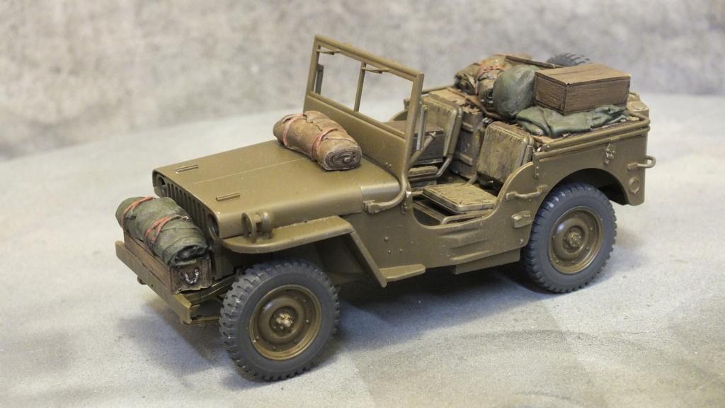Jeep Willys 1/4 Ton Truck  Tamiya 1/35 réf:35219 Dscf4220