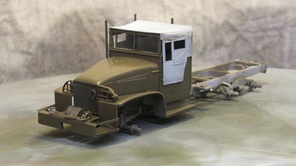 US 2 1/2 Ton 6X6 Cargo Truck Tamiya 35218 avec accessoire 35231 Dscf4221