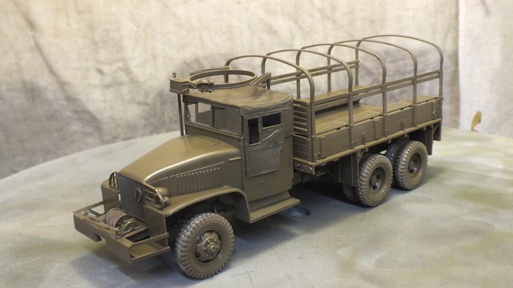 US 2 1/2 Ton 6X6 Cargo Truck Tamiya 35218 avec accessoire 35231 - Page 2 Dscf4310