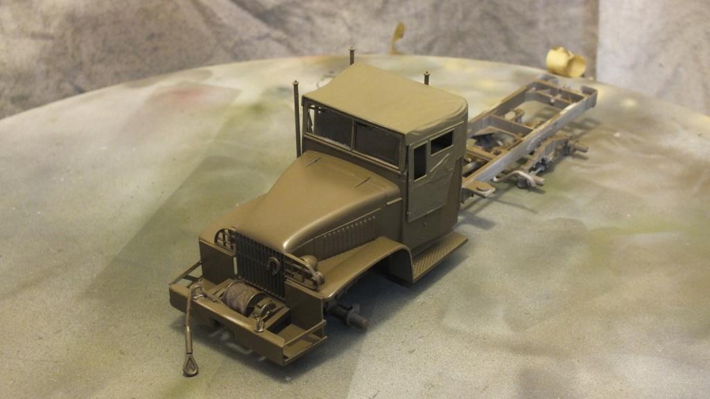 US 2 1/2 Ton 6X6 Cargo Truck Tamiya 35218 avec accessoire 35231 - Page 2 Dscf4311