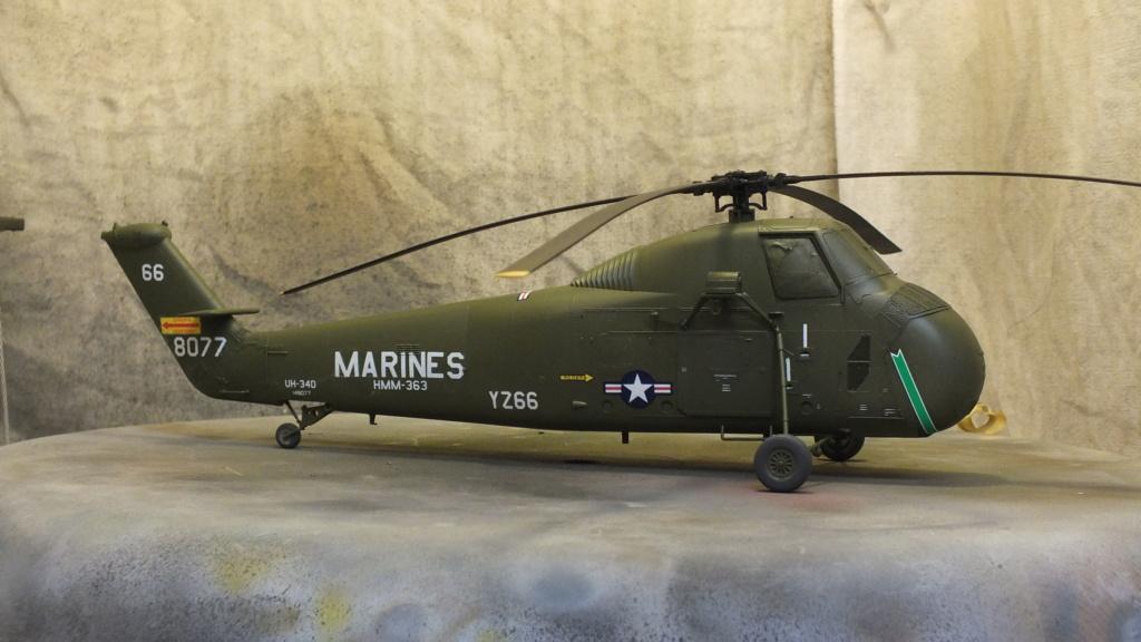 H-34 US Marines Trumpeter - No. 64101 - 1:48 - Page 2 Dscf4356