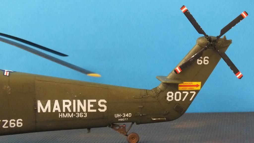 H-34 US Marines Trumpeter - No. 64101 - 1:48 - Page 2 Dscf4410