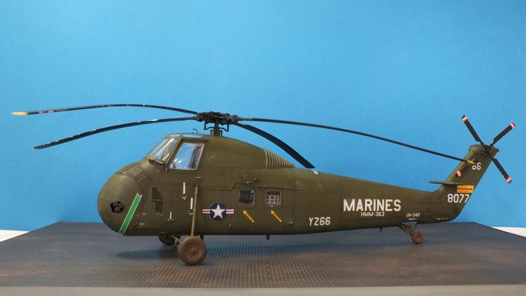 H-34 US Marines Trumpeter - No. 64101 - 1:48 - Page 2 Dscf4412