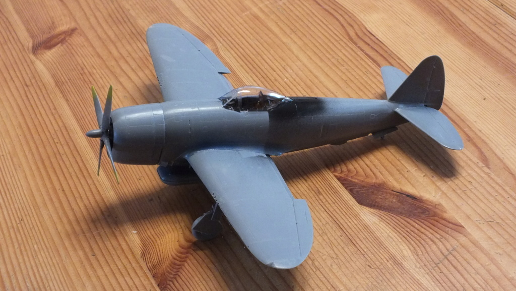 "P-47D Tamiya 1/48 61090 , ""Star Wars"".  Dscf4524"