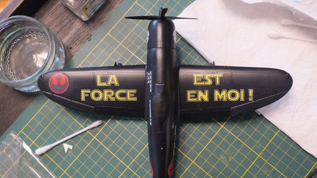 "P-47D Tamiya 1/48 61090 , ""Star Wars"".  Dscf4612"