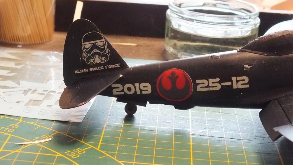 "P-47D Tamiya 1/48 61090 , ""Star Wars"".  Dscf4613"